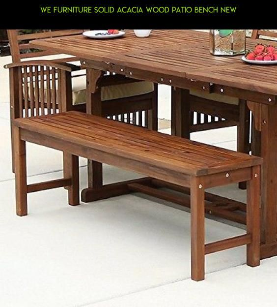 We Furniture Solid Acacia Wood Patio Bench New Drone Fpv Plans Gadgets