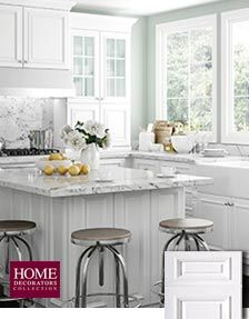 Delicieux Coventry Pacific White   Home Depot 10x10 Kitchen Starting At $3,250.00