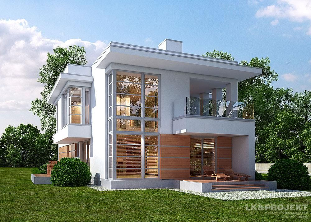 Picture Of Innovative Two Story House With Interior Concepts Small House Exteriors Small House Design Exterior House Exterior