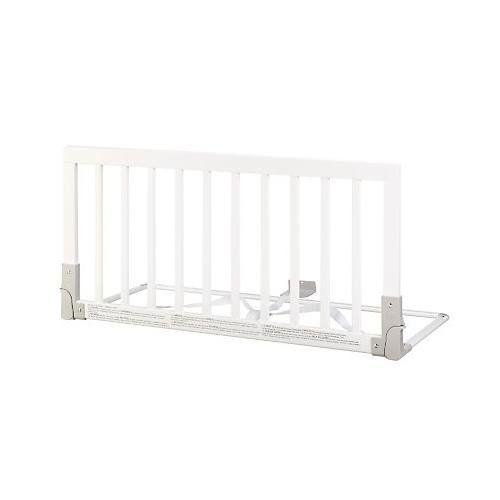 Amazon BabyDan Wooden Bed Guard White Childrens Safety Rails