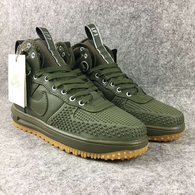 separation shoes e4d1e 5b3d8 2018 Spring Fashion Nike Lunar Force 1 Duckboot High Jungle Green