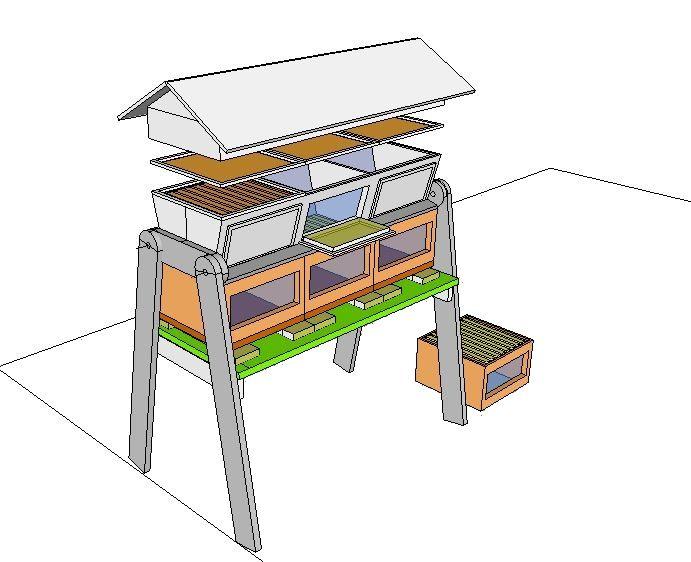 ruche k nyane warr le jardin de verrines top bar pinterest ruches verrine et jardin de. Black Bedroom Furniture Sets. Home Design Ideas