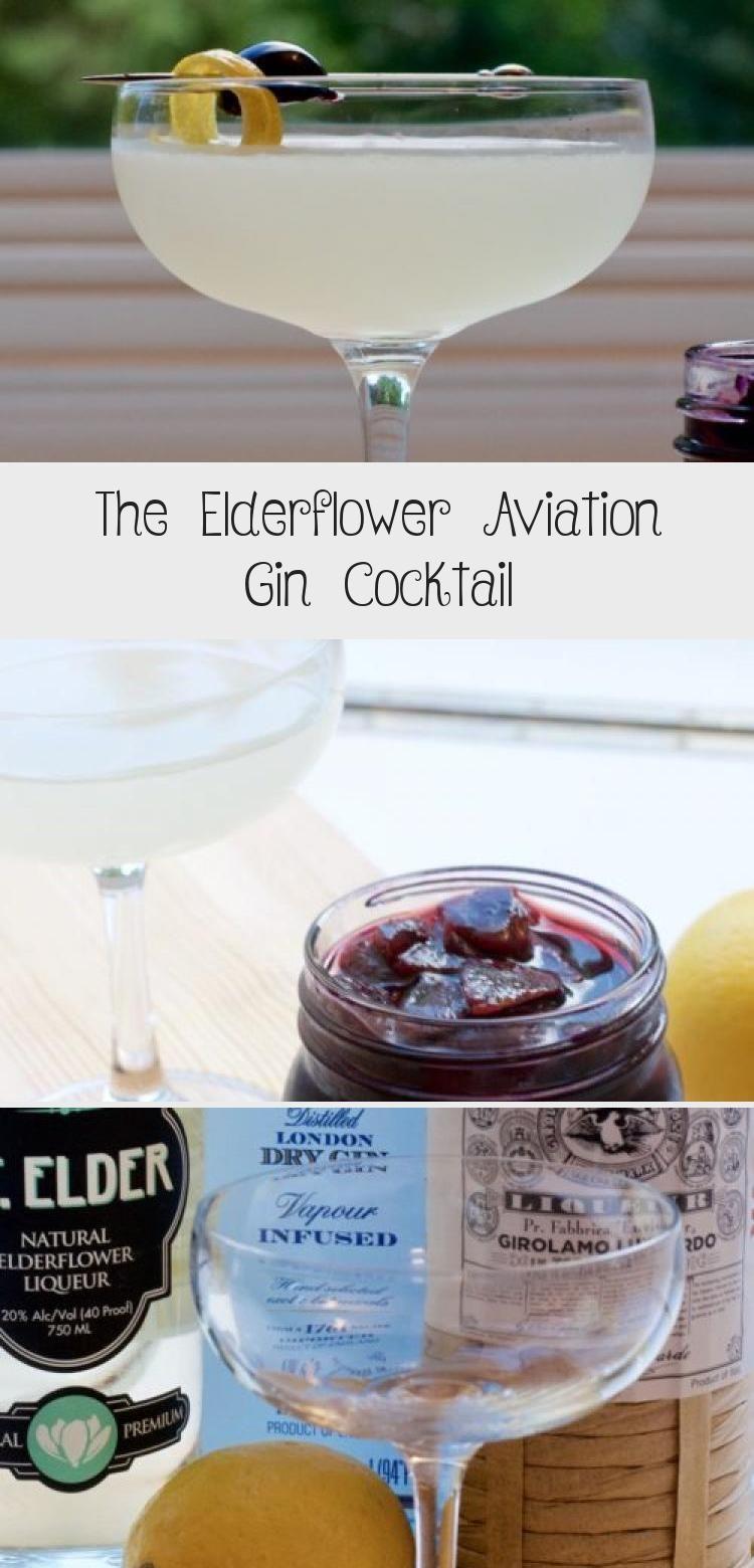 The Elderflower Aviation Gin Cocktail - First Order Gin #Ladiesdrinkcocktails #NewYearsdrinkcocktails #drinkcocktailsAlcohol #Pinkdrinkcocktails #Peopledrinkcocktails #gincocktailrecipes