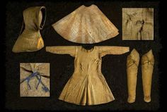 Bocksten man costume is the only complete male costume in Europe that has been preserved from the middle ages.