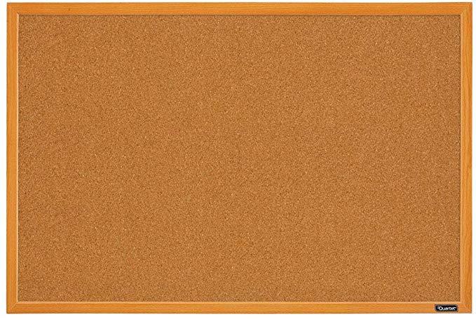 Amazon Com Quartet Corkboard Framed Bulletin Board 2 X 3 Cork Board Oak Wood Finish Frame Mwdb2436 Ecr Oak Fr Cork Board Framed Cork Board B B Italia