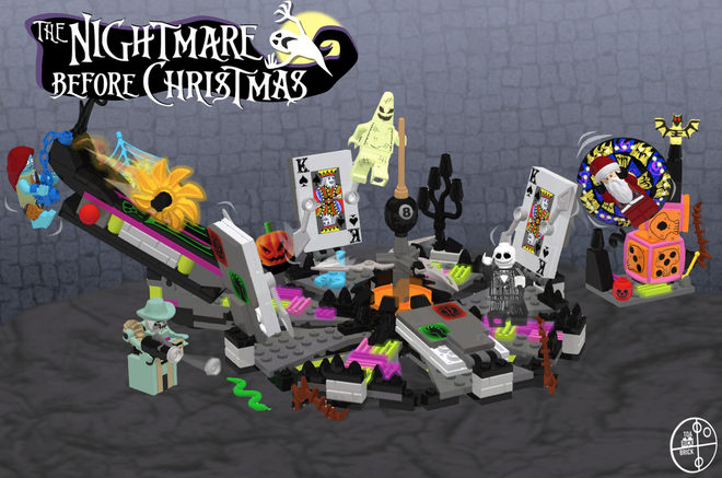 GO VOTE FOR NIGHTMARE BEFORE CHRISTMAS LEGO IDEAS!!! Need 10,000 supporters to g…