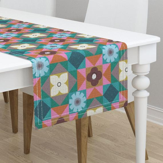 Moroccan Table Runner Colors Of Marrakesh By Ottomanbrim Color