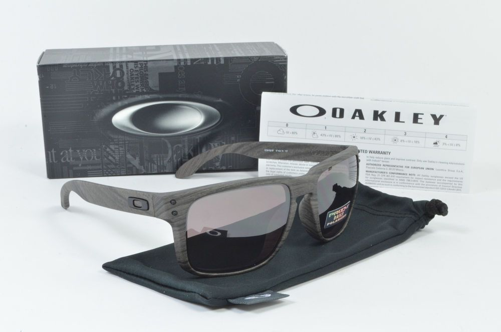 f5e21730879 Oakley HOLBROOK Woodgrain Prizm Daily Polarized OO9102-B7 NIB  fashion   clothing  shoes  accessories  mensaccessories   sunglassessunglassesaccessories  ad ...