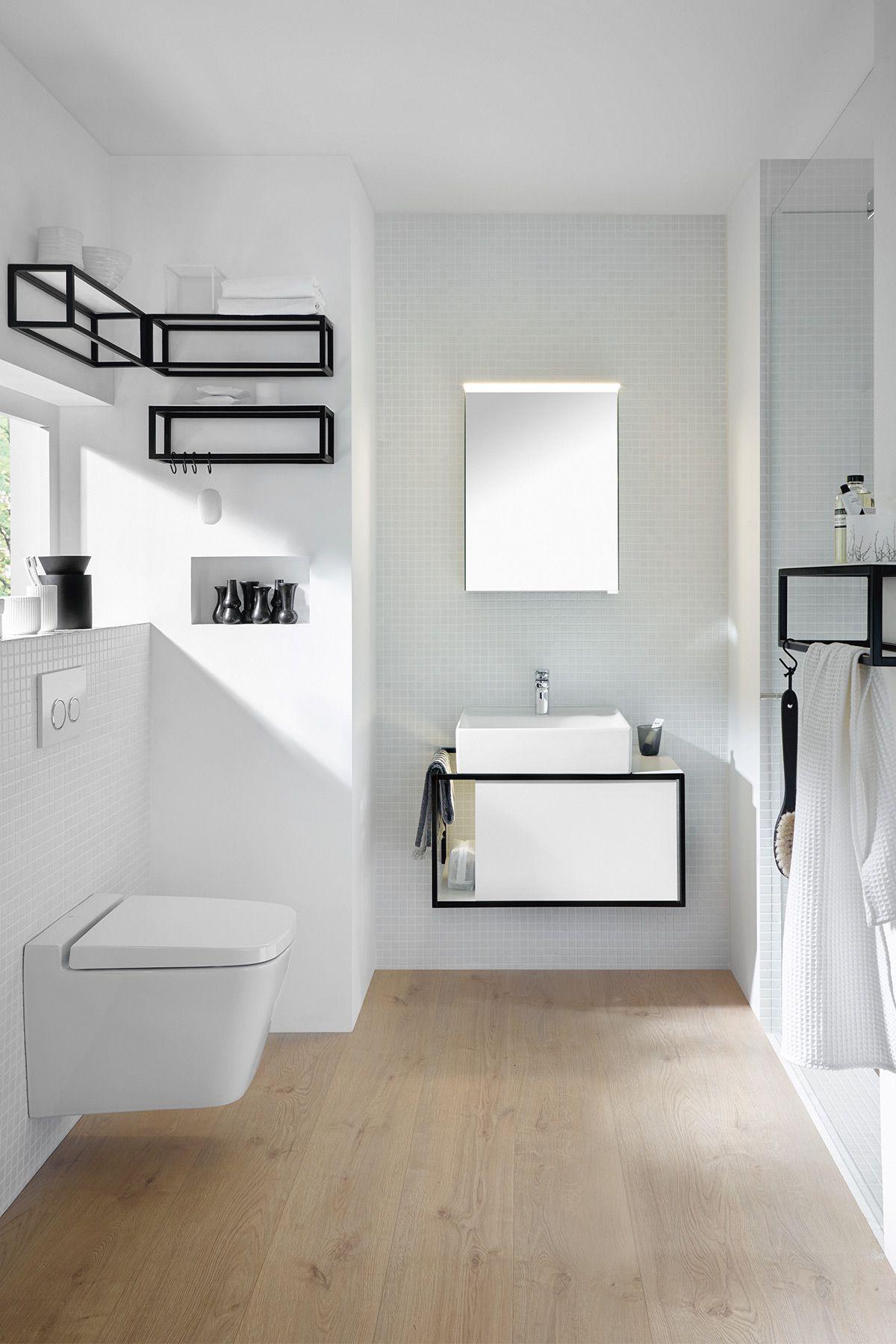 junit von burgbad lebt von dem spiel von linien fl chen und geschlossenen und offenen k rpern. Black Bedroom Furniture Sets. Home Design Ideas