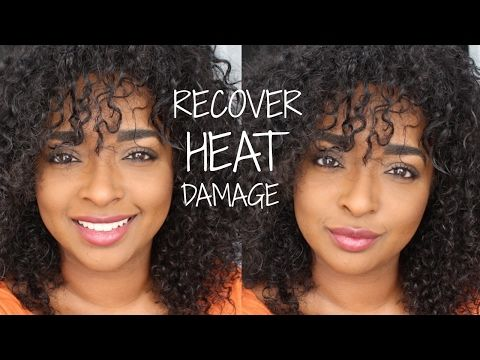 How To Get Rid Of Heat Damage Forever Chanelli Youtube