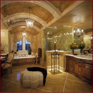 Bathrooms Design Ideas Romantic Bathrooms Master Bathroom Of My Dreams Neutral Colors Rich Fabrics