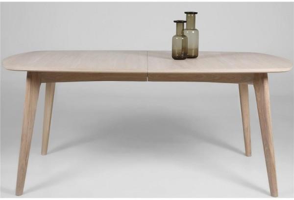 marte modern extending dining table oak