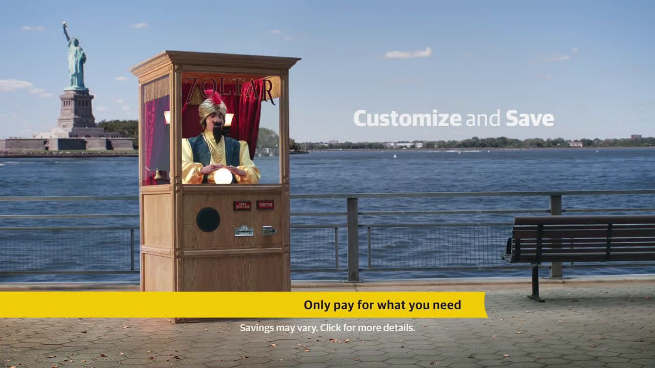 Liberty Mutual Commercial Insurance >> Video Liberty Mutual Insurance Zoltar Bumper Tv Commercial