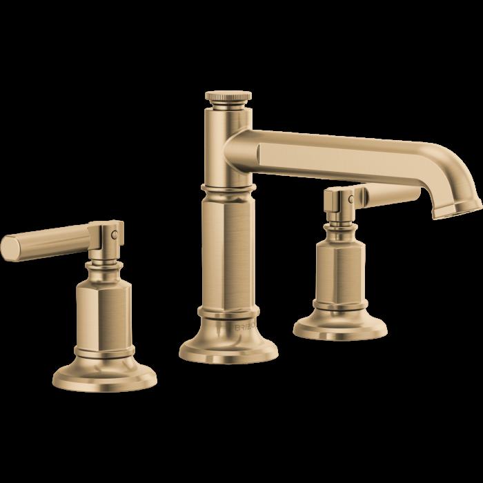 Brizo 65377lf Gllhp Invari Bathroom Faucet Qualitybath Com Brizo Bathroom Faucets Roman Tub