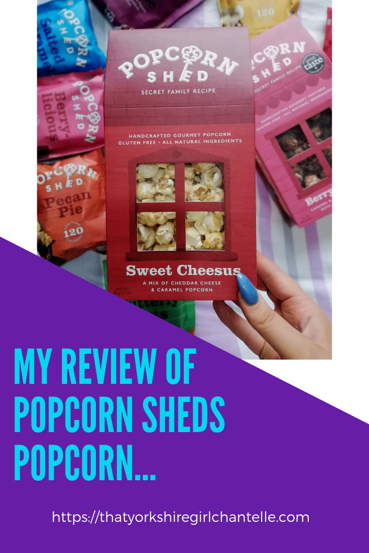 79240c470d5 ... Yorkshire Girl Chantelle- Blogger. The best popcorn ever! #popcorn  #popcornshed #sweettreats #cinemasnacks #snacks #