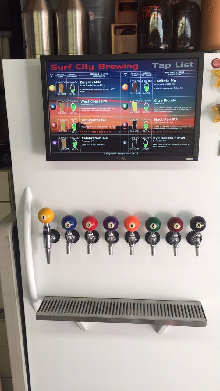 Keezer | Upright Keezer, 8 Taps, 11 Kegs   Home Brew Forums