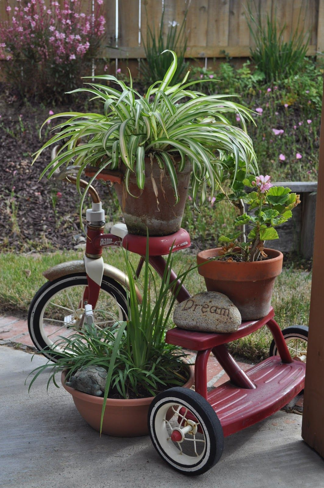 Repurpose As A Plant Stand