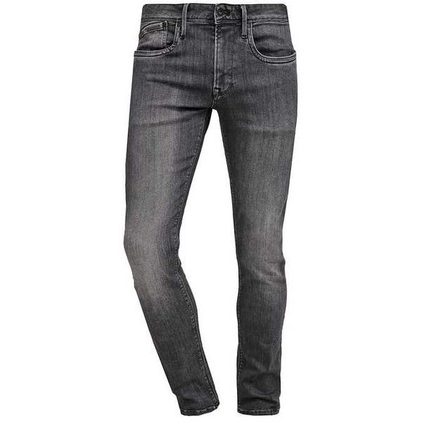 HATCH Jean slim d96 ZALANDO ❤ liked on Polyvore featuring jeans, denim skinny jeans, denim jeans, slim fit denim jeans, slim cut jeans and slim fit jeans