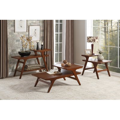 Corrigan Studio Exmouth 3 Piece Coffee Table Set Furniture 3 Piece Coffee Table Set Living Room Modern