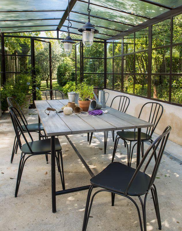 Mobilier BLOOMA Atago - castorama | jardin | Pinterest | Table de ...