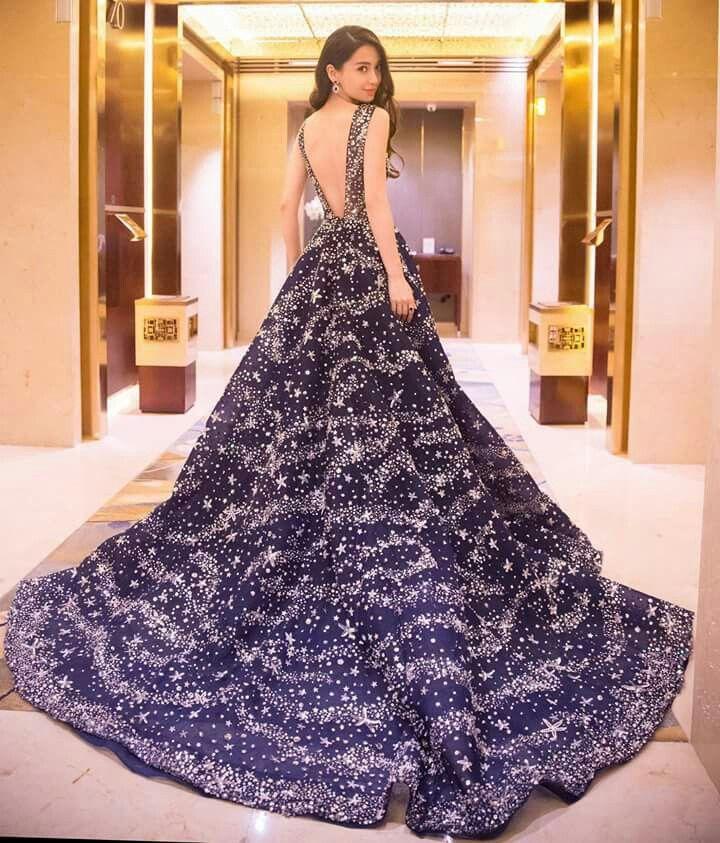 Starry night theme gowns. So lovely. | Star Trek Cruise | Pinterest ...