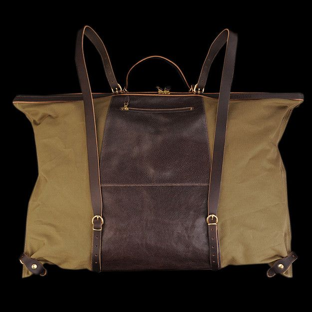 UNIONMADE - il bisonte - The Maremmana Backpack in Dark Brown