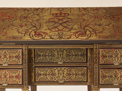 Le bureau du roi louis xiv réalisé par alexandre jean oppenordt
