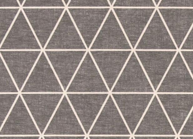 Skandinavischer Stern Grau Okotex Baumwollstoff 3