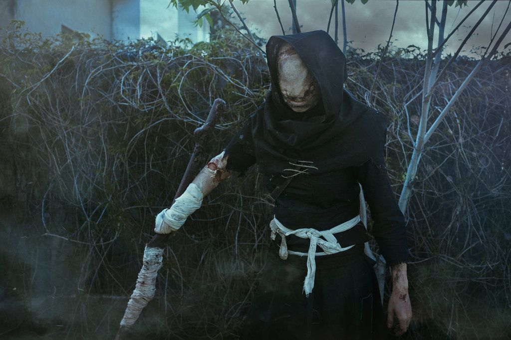 The Caretaker Cosplay From The Witcher 3 By Elenasamko Deviantart Com On The Witcher The Witcher 3 Cosplay