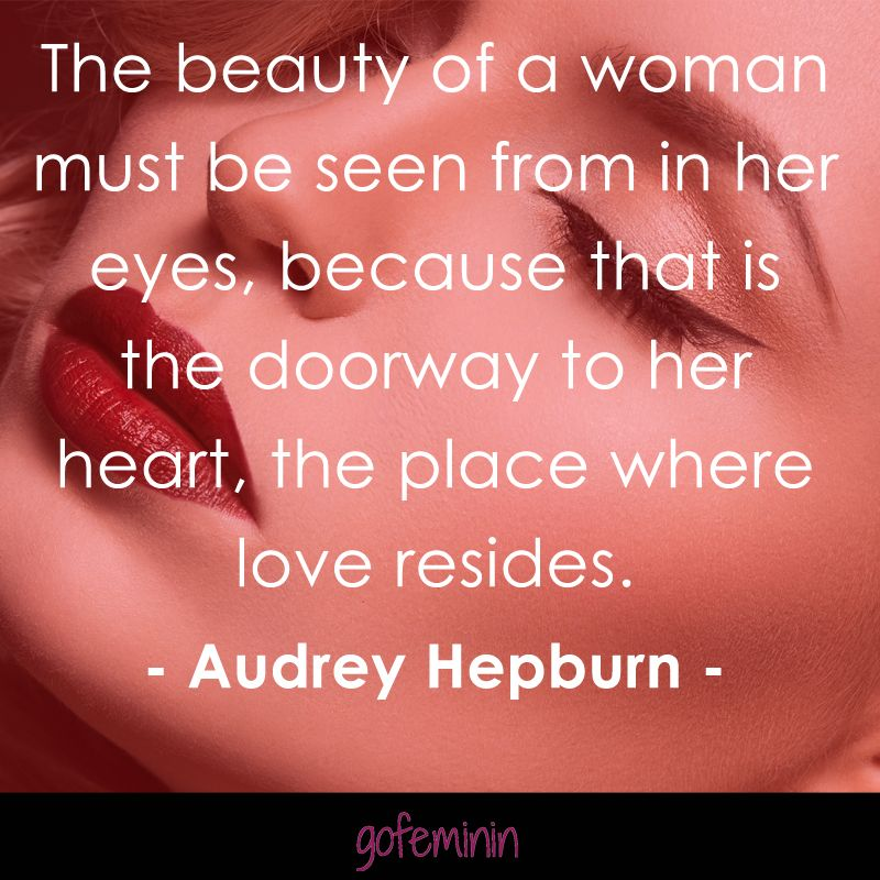 Beauty is...  #gofeminin #audreyhepburn #quotes #beauty