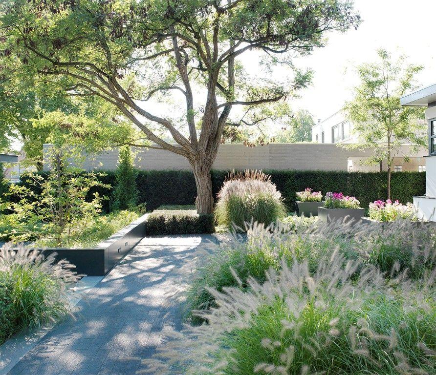 Landelijke tuin moderne tuin strakke tuin exclusieve tuin vaste - Kleine tuin zen buiten ...
