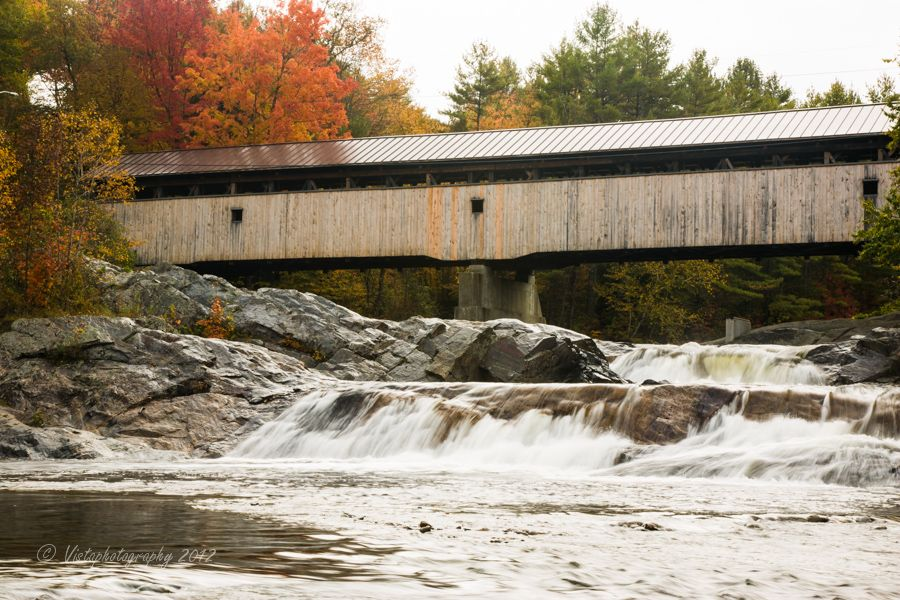 Swiftwater Bridge Bath, New Hampshire   ... January 25, 2013 at 900 × 600 in New England Covered Bridges