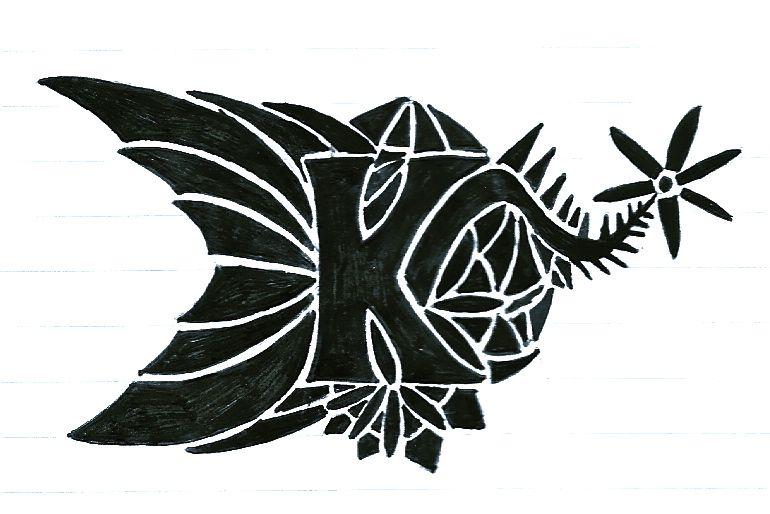 Letter K Designs