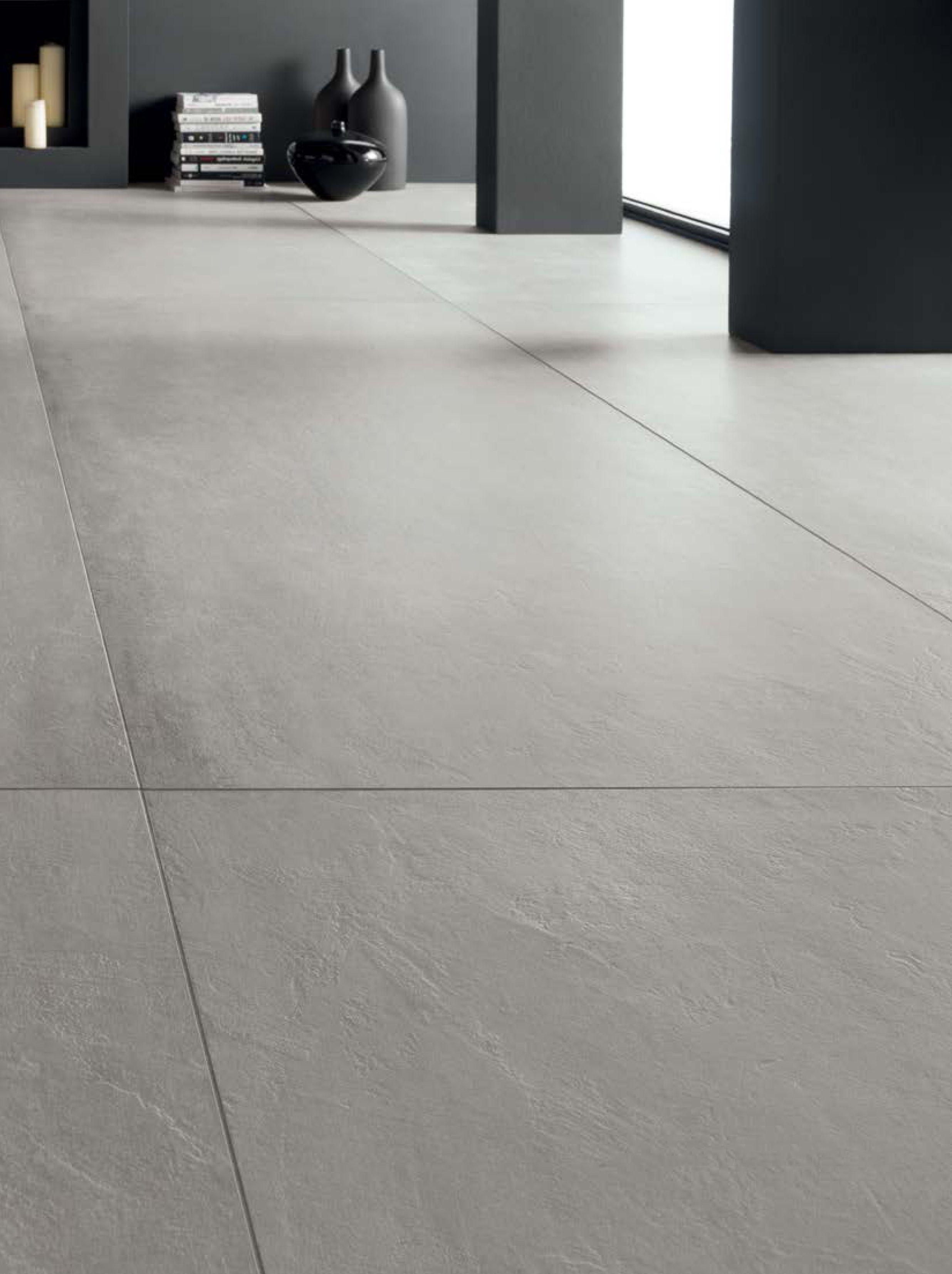cement look porcelain tile concrete