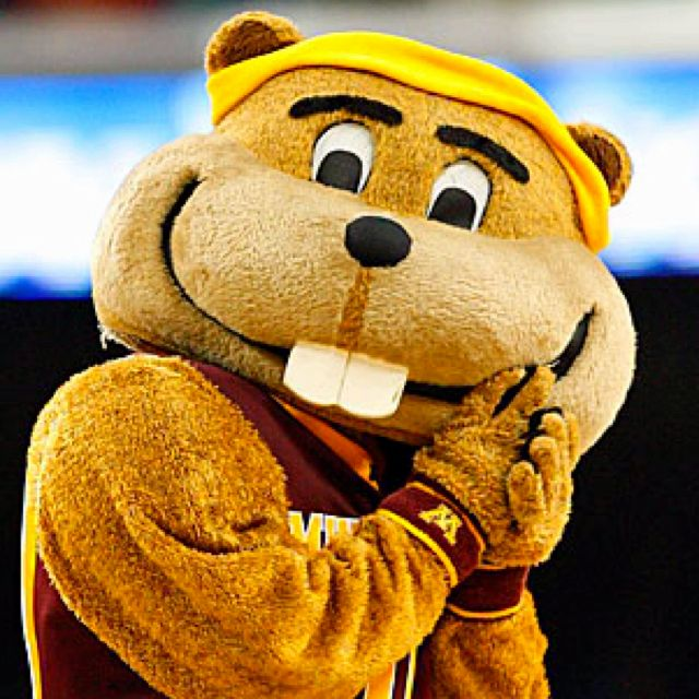 Goldy is National Champion Mascot, ya know?
