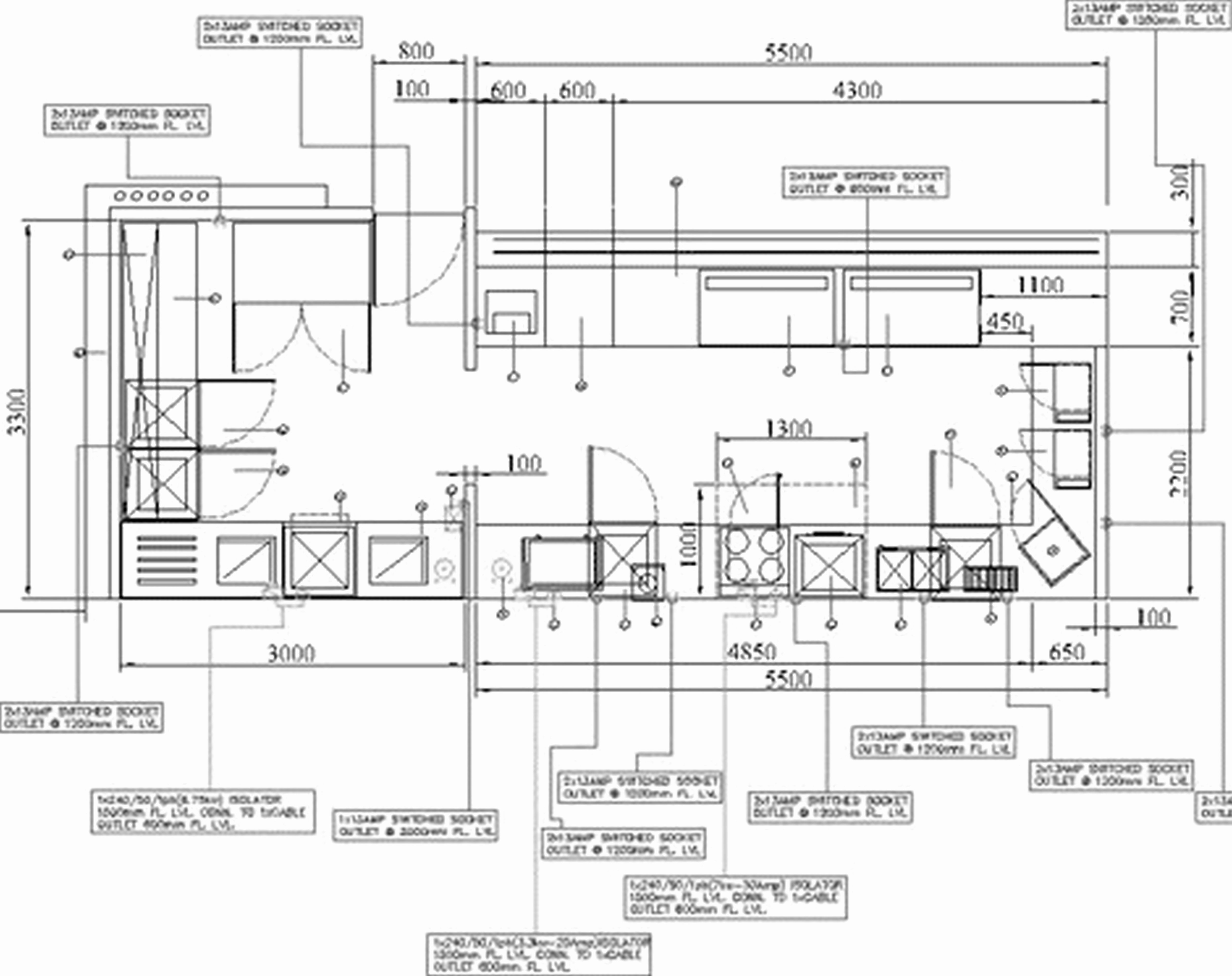 restaurant floor plans with dimensions kitchen commercial kitchen design layouts modern floor plan [ 5000 x 3960 Pixel ]