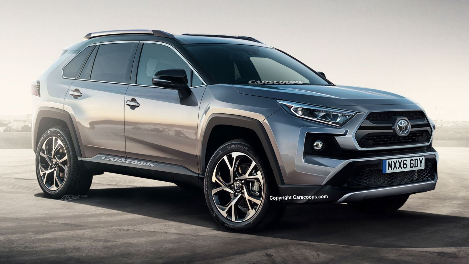 New 2019 Toyota Rav4 Concept Redesign And Review Car 2018