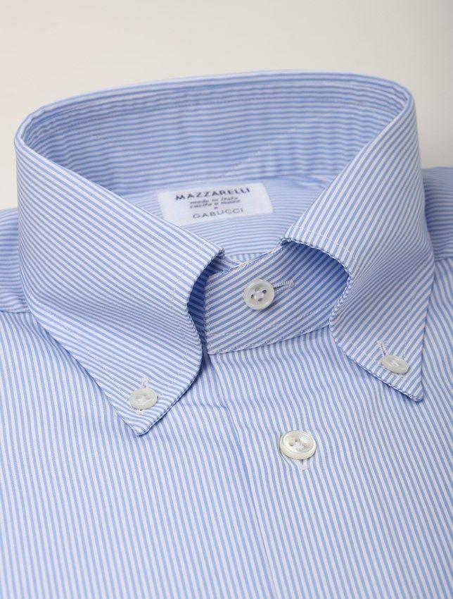 Strl 38 - Mazzarelli Skjorta Button Down  5079059defb57