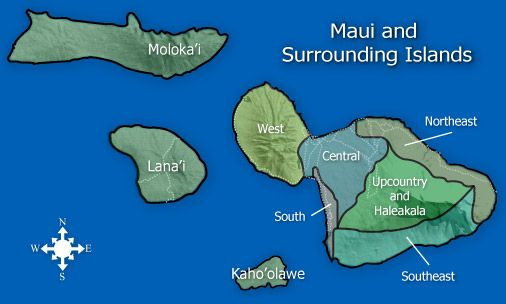 photo relating to Printable Map of Maui referred to as Maui Maps printable This is a map of Maui`s other islands