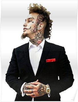 Stitches Rapper Tattoos : stitches, rapper, tattoos, Stitches, Rapper', Poster, Baller, Rapper,, Scarf, Shirt