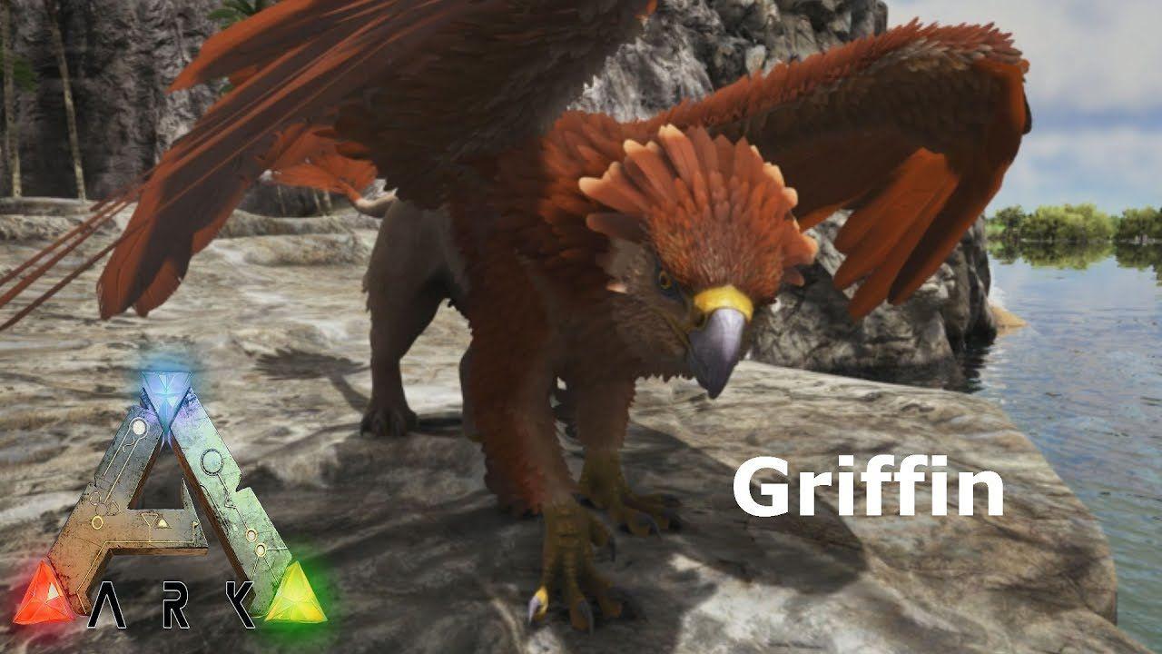 ARK Ragnarok DLC Showcasing the Griffin | Games | Ark, Minecraft