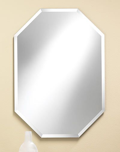 frameless beveled mirror. Frameless Octagon Bevel Mirror - Multiple Sizes #311 20\ Beveled