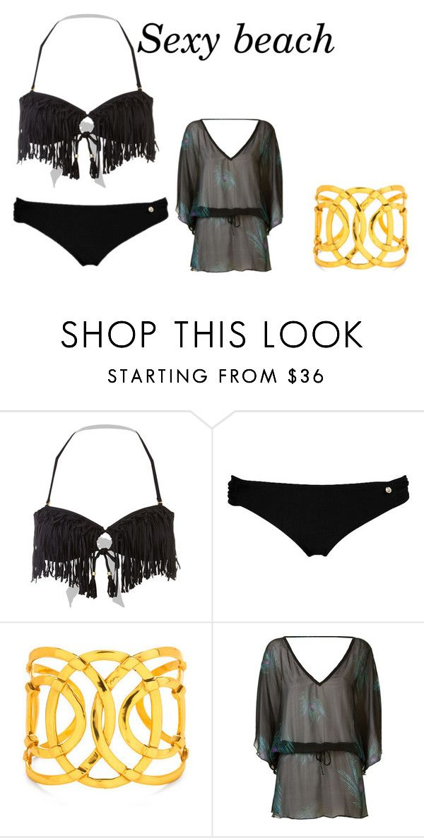 """sexy beach"" by antonia-cc on Polyvore featuring Raisins and Brigitte"