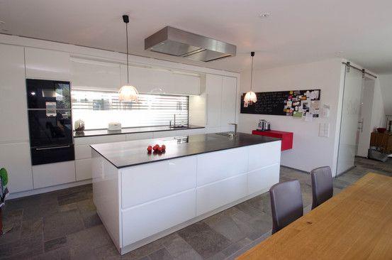 Küchen \ Wohnküchen Wohnküche Häcker 5 housekeeping Pinterest - offene wohnkuche mit wohnzimmer