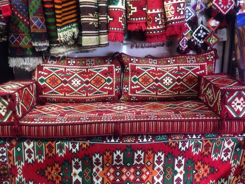 Orientalische Sitzgruppe. 5 Teilig. Neu Sark Kösesi. Yeni in Möbel ...