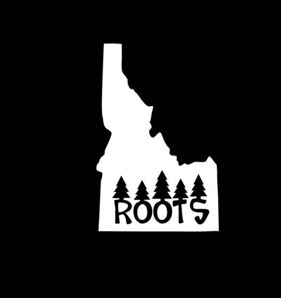 Idaho Roots Decal 0ec3539965022