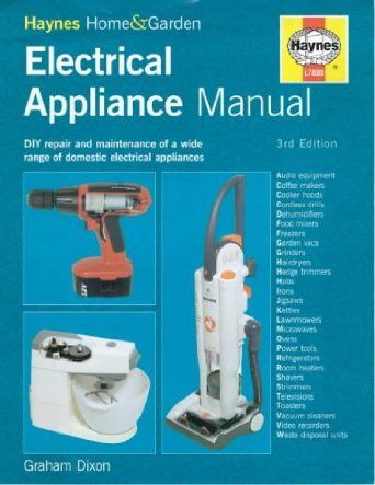 electrical appliance manual haynes for home diy amazon co uk rh pinterest com haynes automotive electrical manual pdf haynes manual electrical symbols