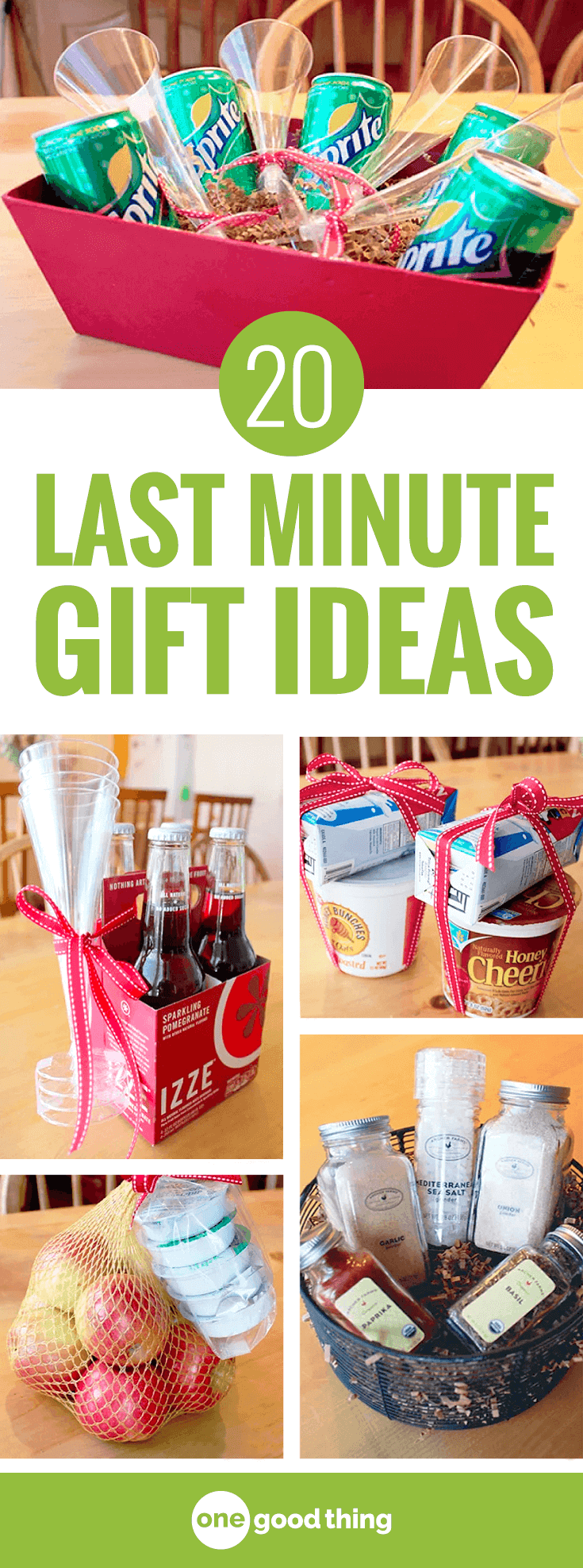 20 Simple, Last-Minute Gift Ideas From Your Grocery Store!