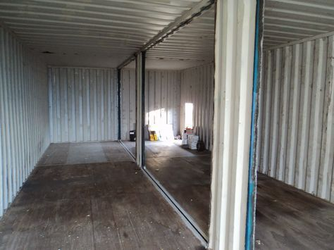Autoconstrucci n c mo transformar un contenedor 1 parte casas pinterest - Como hacer una casa con un contenedor maritimo ...
