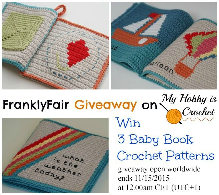 Franklyfair Giveaway On My Hobby Is Crochet Win 3 Baby Book Crochet